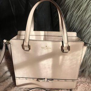 Light pink Rhinestone studded Kate Spade purse